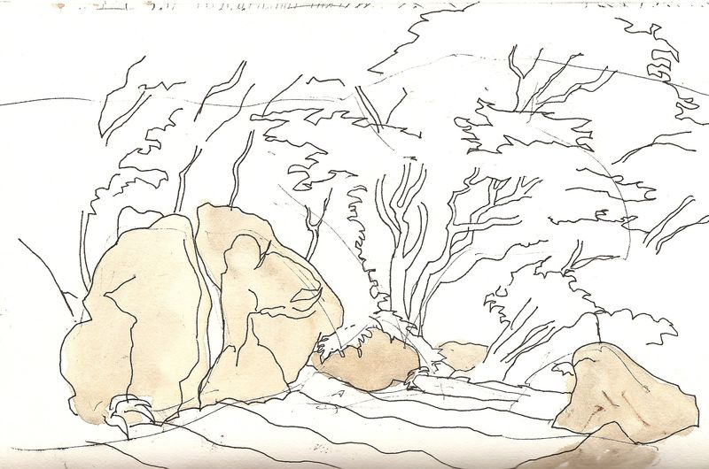 Rocks, Japanese Garden, San Francisco