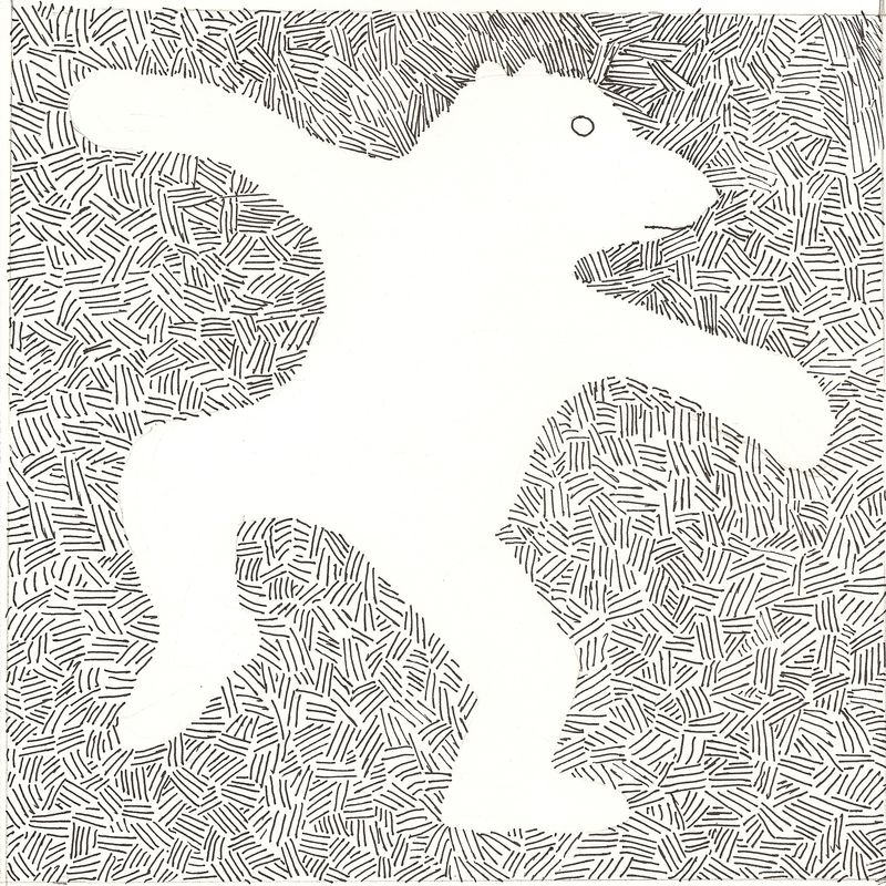 Dancing animal. Scanned Image 1